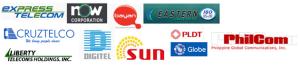 Philippine Telephone Companies (logos)