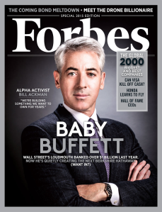 William 'Bill' Ackman. CEO and Founder of Pershing Square. Source: Forbes